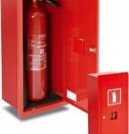 Szafka ochronna na gaśnicę, wnękowa GP-600